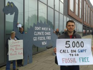 Don't be a fossil GMPF!