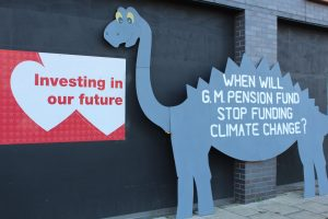 Investing in our future? When will GM Pension Fund stop funding climate change?