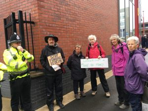 Pension Fund members protest at GMPF
